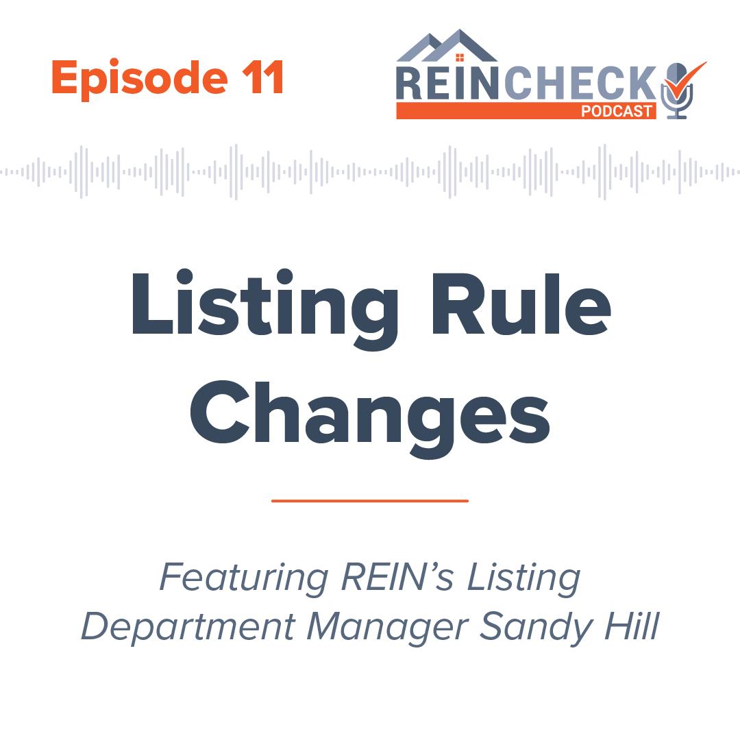 REIN Check Podcast Episode 11 graphic