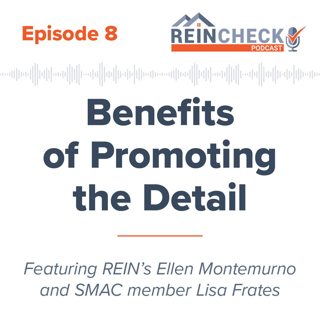 REIN Check Podcast Episode 8 graphic