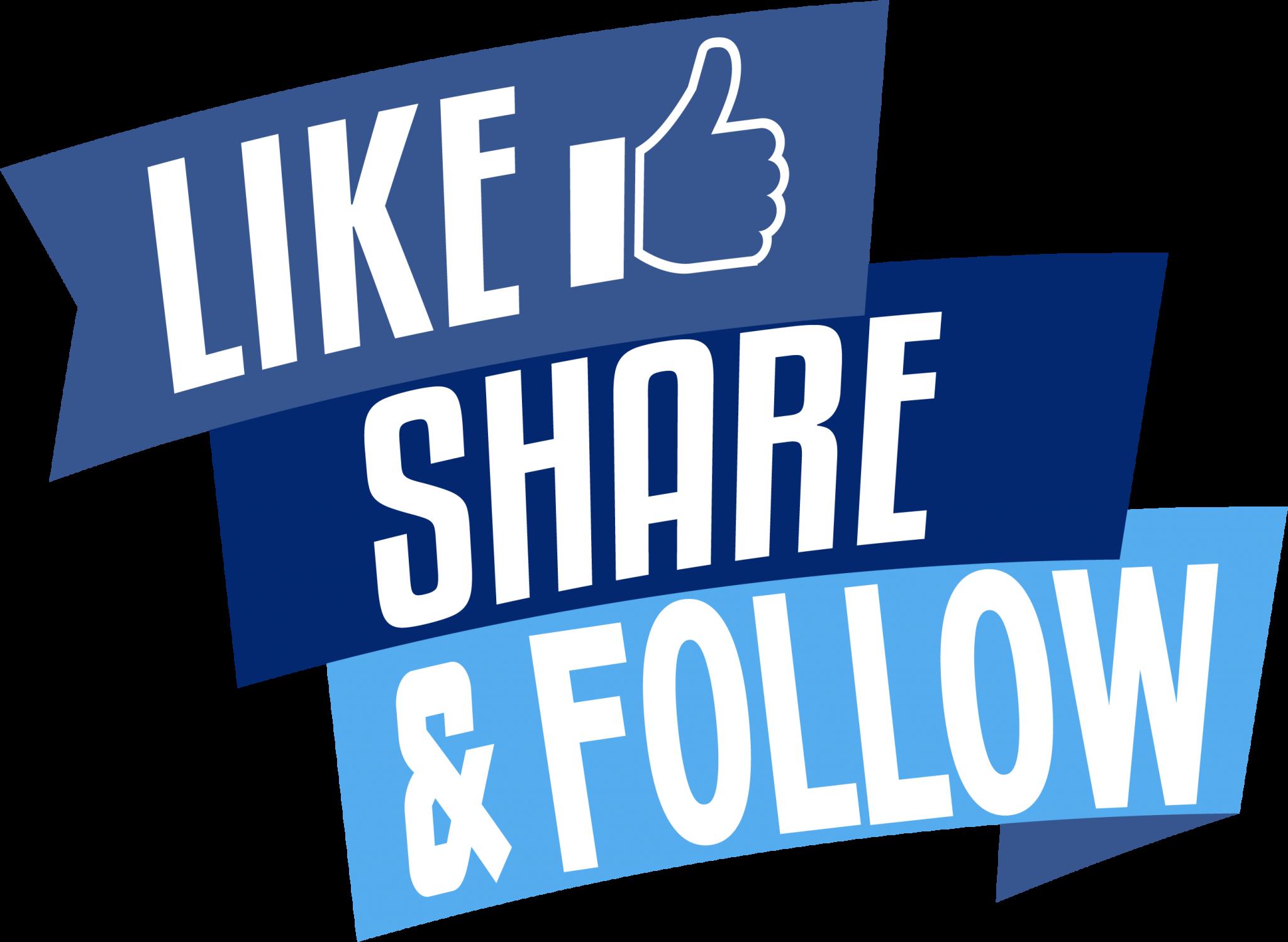 Like Share & Follow