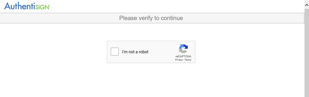 authentisign captcha