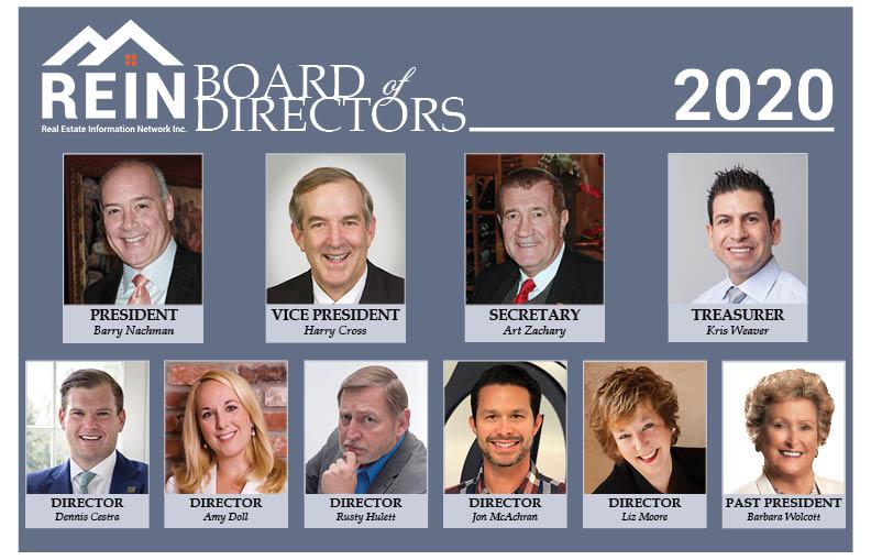 REIN 2019 Board of Directors