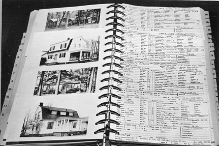 Early listings book