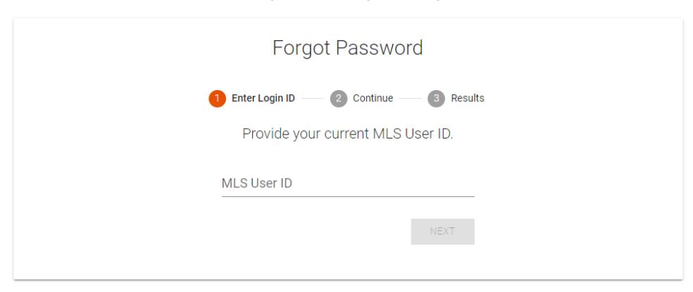 Grow with REIN, reset password