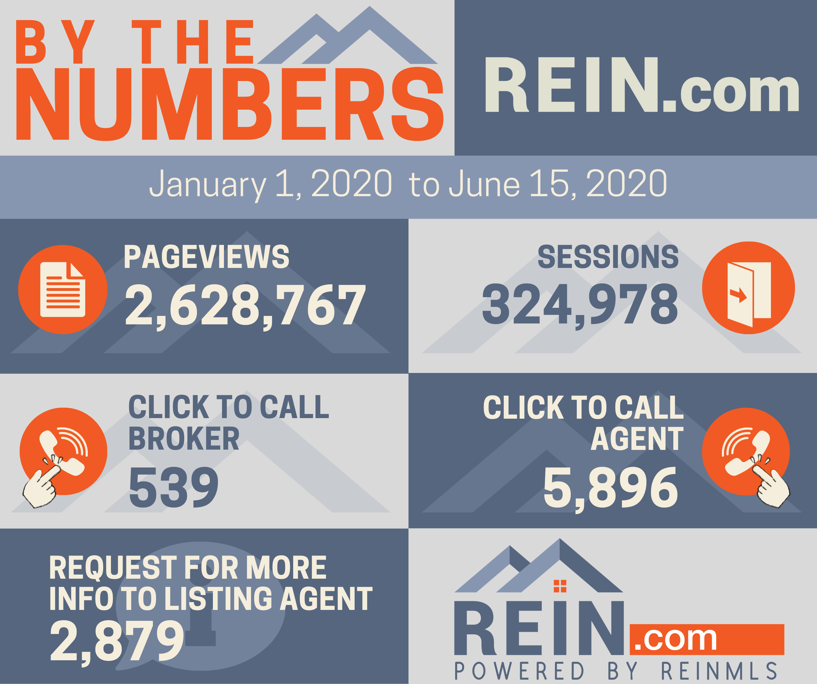 Rein.com by the numbers graphic.